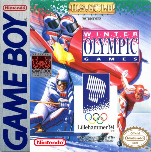 XVII Olympic Winter Games, The - Lillehammer 1994 Nintendo Game Boy cover artwork