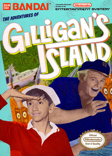 Adventures of Gilligan's Island, The Nintendo NES cover artwork