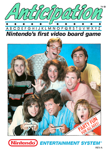 Anticipation Nintendo NES cover artwork