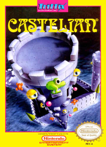 Castelian Nintendo NES cover artwork