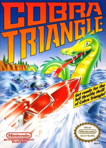 Cobra Triangle Nintendo NES cover artwork
