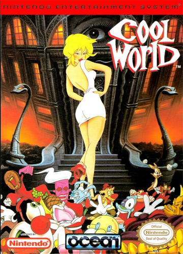 Cool World Nintendo NES cover artwork