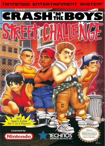 Crash 'n' the Boys - Street Challenge Nintendo NES cover artwork