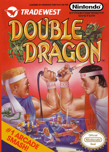Double Dragon Nintendo NES cover artwork