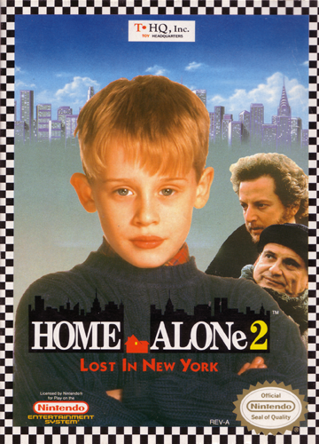 Home Alone 2 - Lost in New York Nintendo NES cover artwork