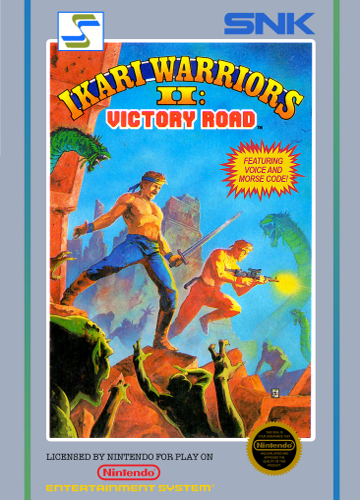 Ikari Warriors II - Victory Road Nintendo NES cover artwork