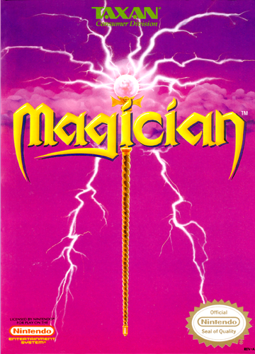 Magician Nintendo NES cover artwork