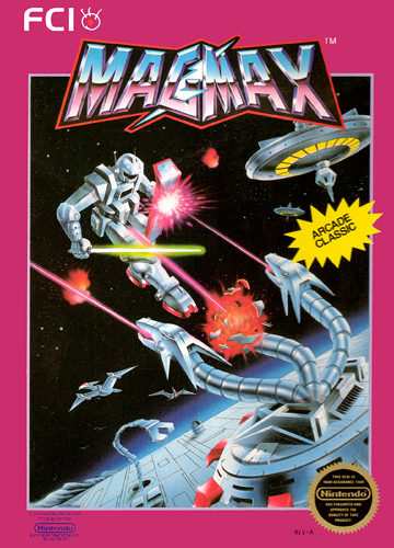 Magmax Nintendo NES cover artwork