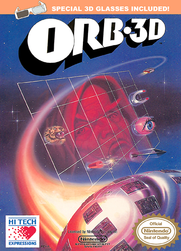 Orb 3D Nintendo NES cover artwork