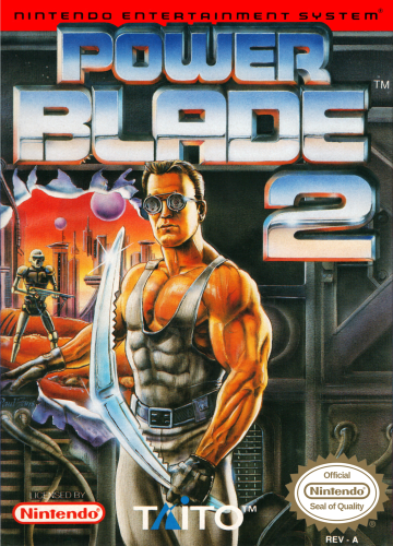 Power Blade 2 Nintendo NES cover artwork