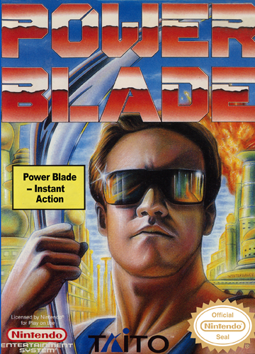 Power Blade Nintendo NES cover artwork