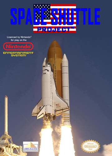 Space Shuttle Project Nintendo NES cover artwork