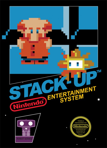 Stack-Up Nintendo NES cover artwork
