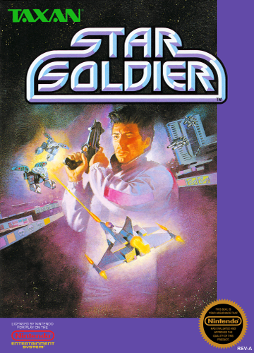 Star Soldier Nintendo NES cover artwork