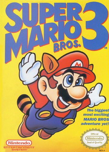 Super Mario Bros. 3 Nintendo NES cover artwork