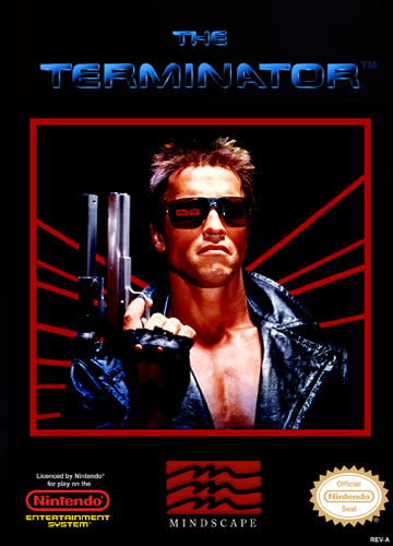 Terminator, The Nintendo NES cover artwork