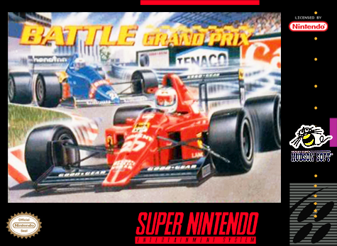 Battle Grand Prix Nintendo Super NES cover artwork