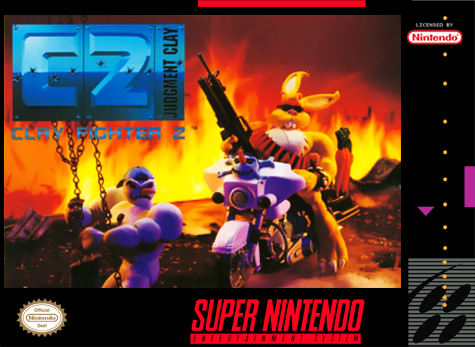 Clay Fighter 2 - Judgment Clay Nintendo Super NES cover artwork