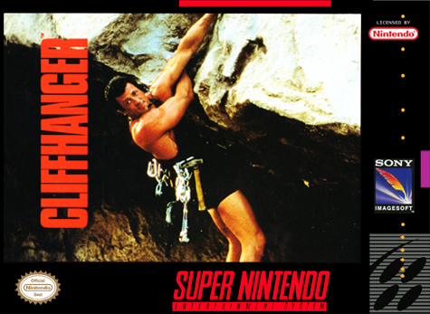 Cliffhanger Nintendo Super NES cover artwork