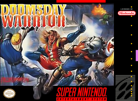 Doomsday Warrior Nintendo Super NES cover artwork