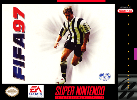 FIFA '97 - Gold Edition Nintendo Super NES cover artwork