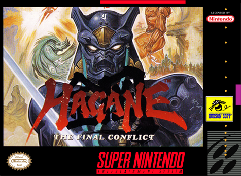 Hagane - The Final Conflict Nintendo Super NES cover artwork