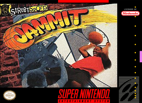 Jammit - Street Sports Nintendo Super NES cover artwork