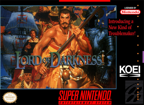 Nobunaga's Ambition - Lord of Darkness Nintendo Super NES cover artwork