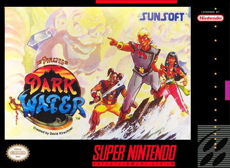 Pirates of Dark Water, The Nintendo Super NES cover artwork