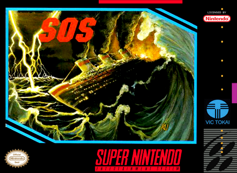 SOS Nintendo Super NES cover artwork