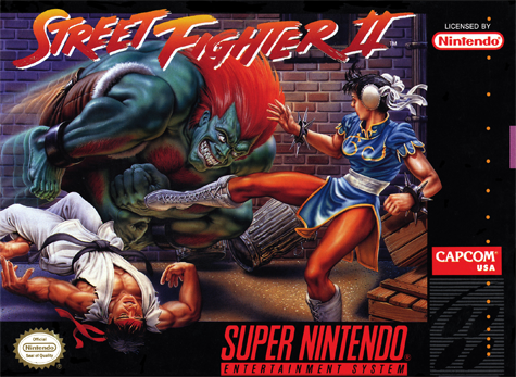 Street Fighter 2 - The World Warrior Nintendo Super NES cover artwork