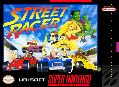Street Racer Nintendo Super NES cover artwork