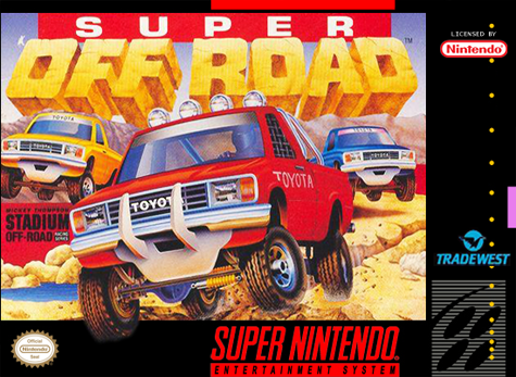 Super Off Road Nintendo Super NES cover artwork