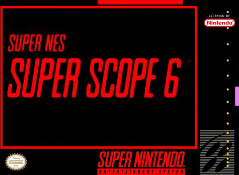 Super Scope 6 Nintendo Super NES cover artwork