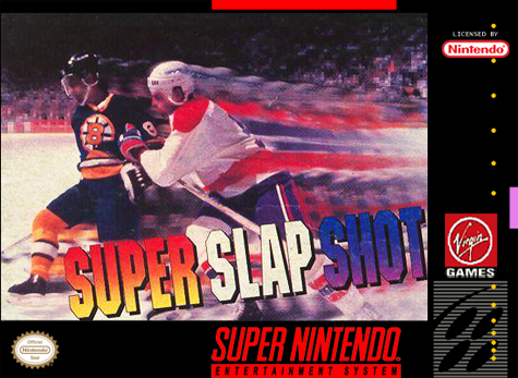 Super Slap Shot Nintendo Super NES cover artwork