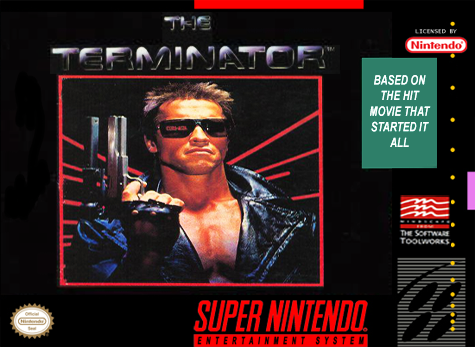 Terminator, The Nintendo Super NES cover artwork