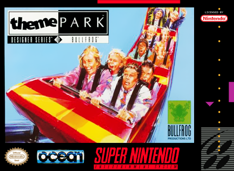 Theme Park Nintendo Super NES cover artwork
