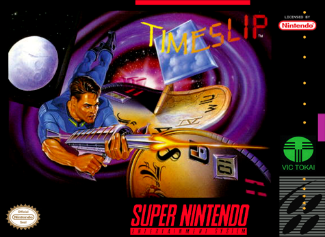 Time Slip Nintendo Super NES cover artwork