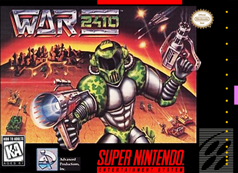 War 2410 Nintendo Super NES cover artwork