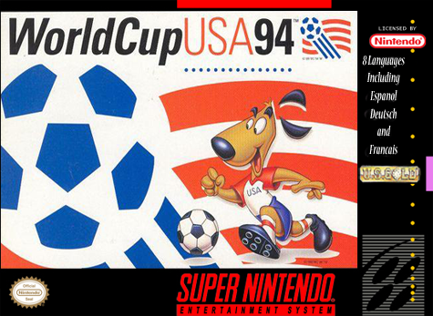 World Cup USA '94 Nintendo Super NES cover artwork