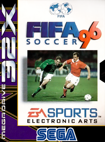 FIFA Soccer '96 Sega 32X cover artwork