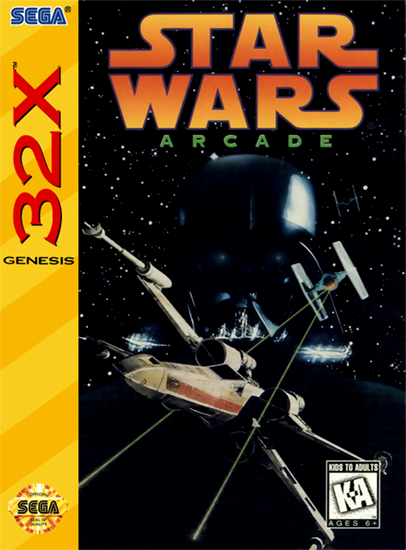 Star Wars Arcade Sega 32X cover artwork