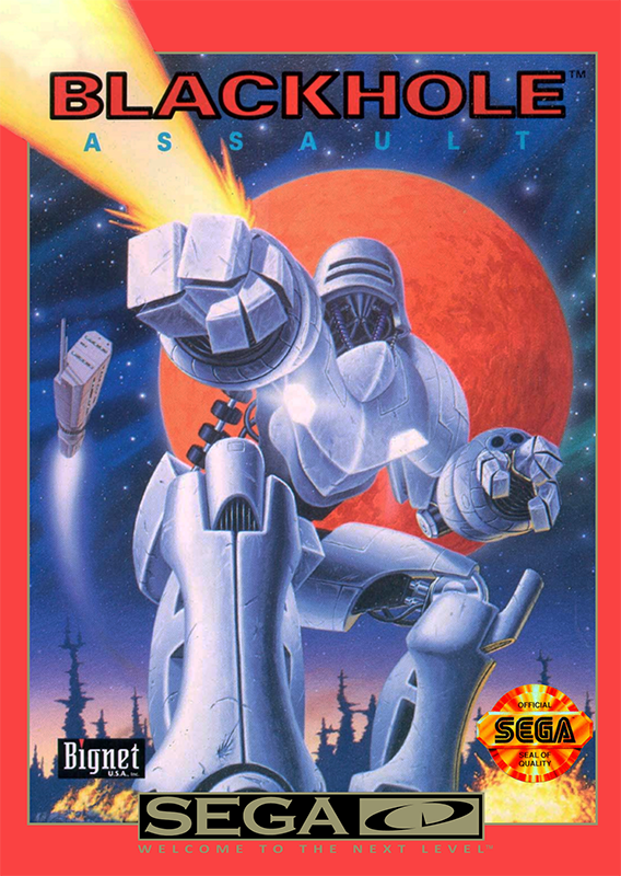 Blackhole Assault Sega CD cover artwork