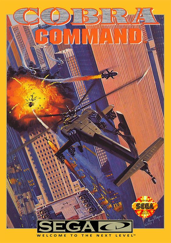 Cobra Command Sega CD cover artwork