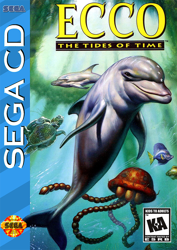 Ecco - The Tides Of Time Sega CD cover artwork