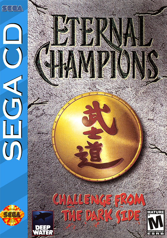 Eternal Champions - Challenge from the Dark Side Sega CD cover artwork