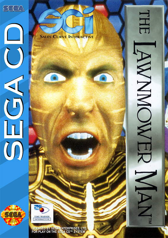 Lawnmower Man, The Sega CD cover artwork