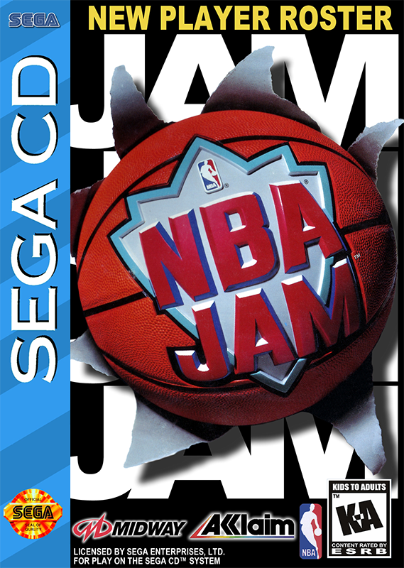 NBA Jam Sega CD cover artwork