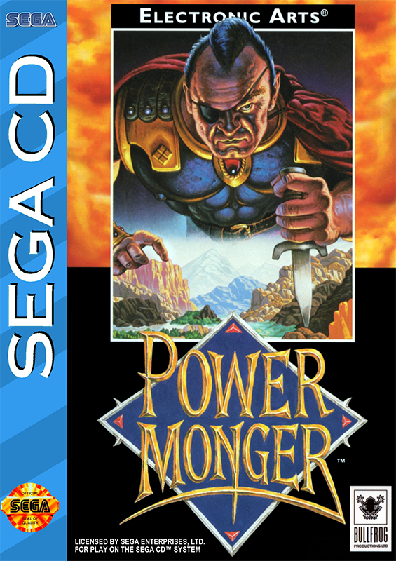 Power Monger Sega CD cover artwork
