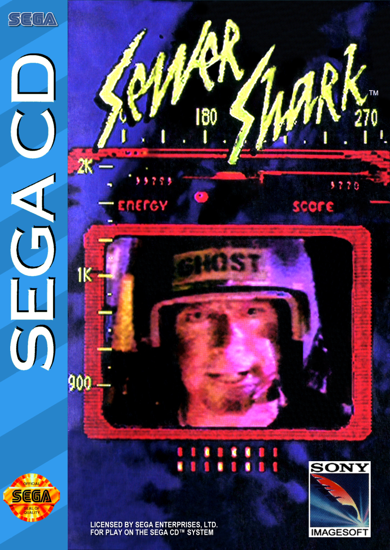 Sewer Shark Sega CD cover artwork
